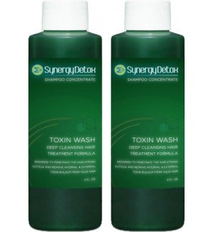 Toxin Wash Hair Detoxification Shampoo - Double Bottle