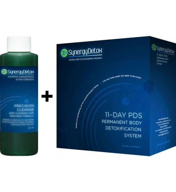 Synergy Detox 11 Day Total PDS Body & Hair Detoxification System
