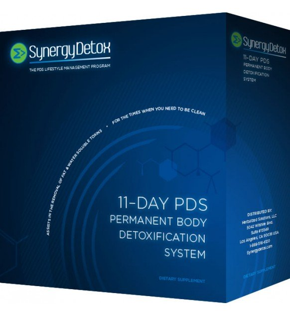 Synergy Detox 11 Day PDS Body Detoxification System
