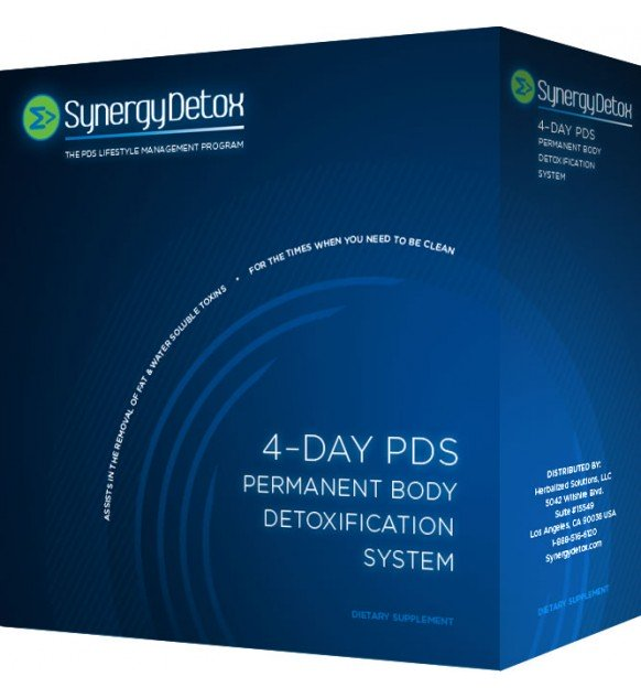 Synergy Detox 4 Day PDS Body Detoxification System