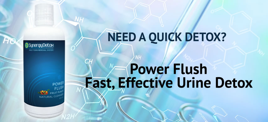 Synergy Detox Power Flush Urine Drug Test Detox Drink
